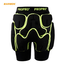 PROPRO Snowboard Motorcycle Shorts Men Women Rubber Pads Hockey Hip Protector Ski Butt Brace Roller Motocross Body Protection