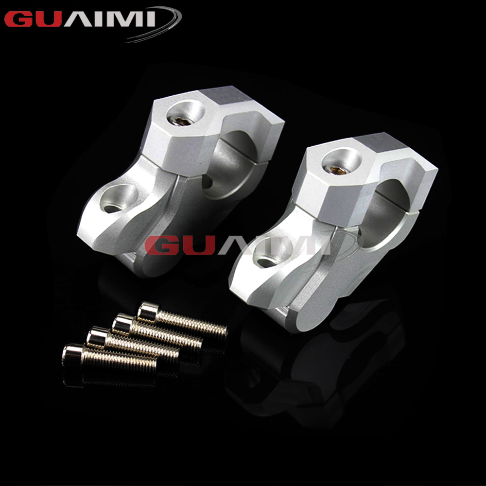 For BMW R1200GS LC 13-17/ R1200GS LC Adventure 14-17 Motorcycle Handlebar Riser Handle Bar Clamp Extend Adapter motorcycle couple kit handlebar riser handle bar clamp extend adapter for b m w r1200gs r1200 gs lc adv 2014 2015 2016