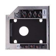 Универсальный SATA 2-й жесткий диск Оптический отсек дополнительный жесткий диск HDD Caddy/адаптер для 12,7 мм CD/DVD-ROM ноутбук ПК