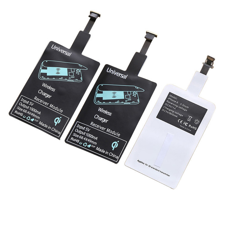 2018 Qi Wireless Charger Receiver Module for iPhone Smart Charging Adapter Receptor for Android