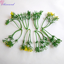 20pcs Artificial Greenery Supplies For Corsage Boutonniere Wreath Flower Wall Floral Arrangement Accessories Stamen