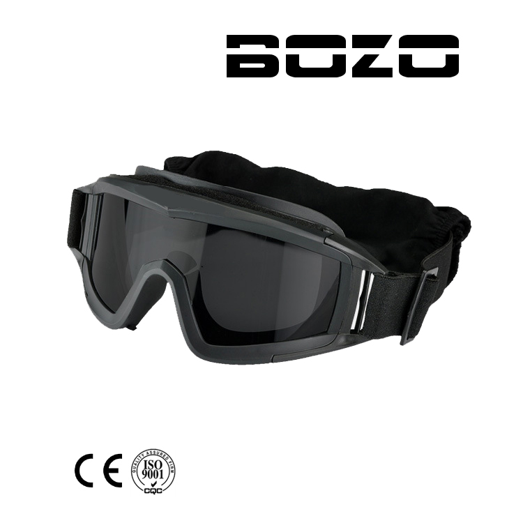 Paintball BB PCP Tactical SWAT Goggle Mask Eyewear Eye Protection With 3 Lens