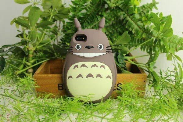 Studio Ghibli My Neighbor Totoro – Silicon Soft Case For iPhone 6 6s 5 5S SE 7 7plus