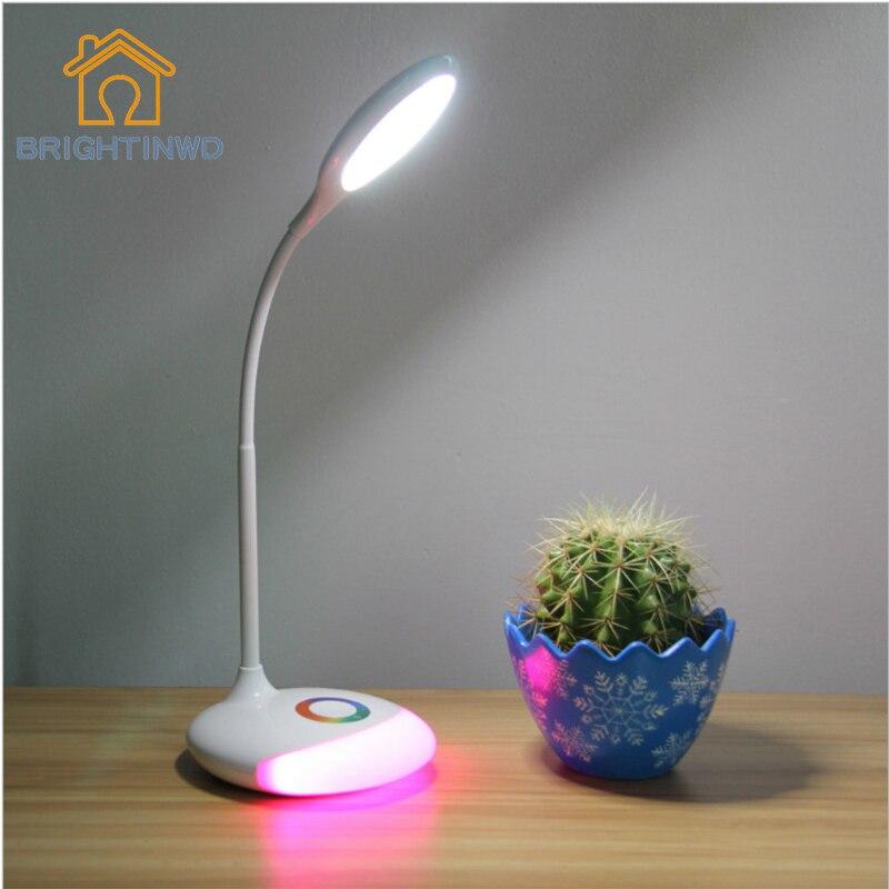 घर के लिए चमकती एलईडी टेबल - इंडोर लाइटिंग
