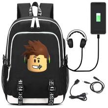 Multifunction Game Roblox Kids School Bag Cartoon Children