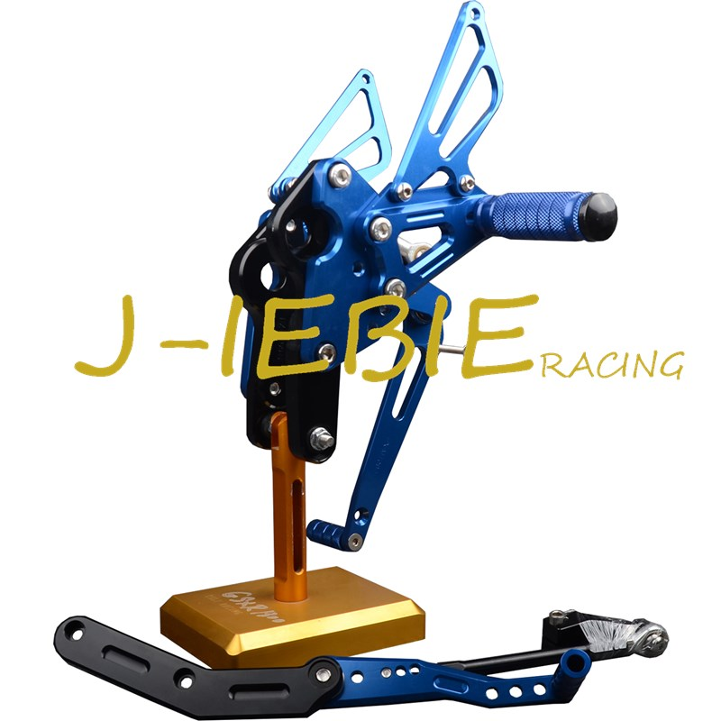 CNC Racing Rearset Adjustable Rear Sets Foot pegs Fit For Yamaha FZ09 MT09 2014 2015 2016 BLUE for yamaha mt09 fz09 2013 2016 motorbikes racing cnc adjustable rear sets rear set foot pegs mt 09 fz 09 motorcycle