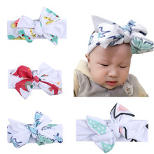 Animal Theme Elephant Butterfly Giraffe Tringles Ins Fashion Kids Girls Baby Hairbands Hair Accessories Baby Headband Bunchems