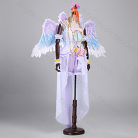 Love Live Kousaka Honoka Cosplay Costume Christmas Dress White Valentine's Day Angel Awaken Dress Custom Made