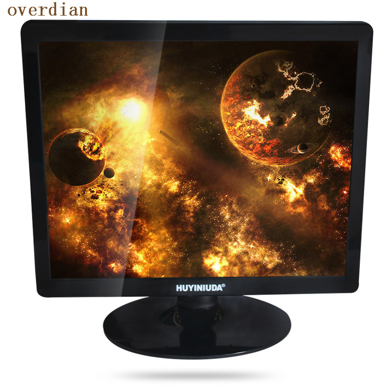 17inch/17 VGA Connector Plastic Shell LCD Monitor/Display 1280*1024 Resolution4:3 high tech and fashion electric product shell plastic mold