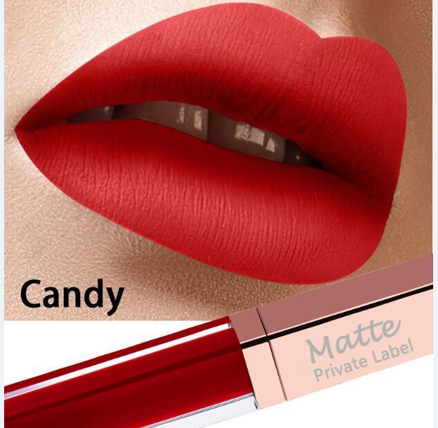 Best selling 2018 ultra matte lipstick best colors from korea