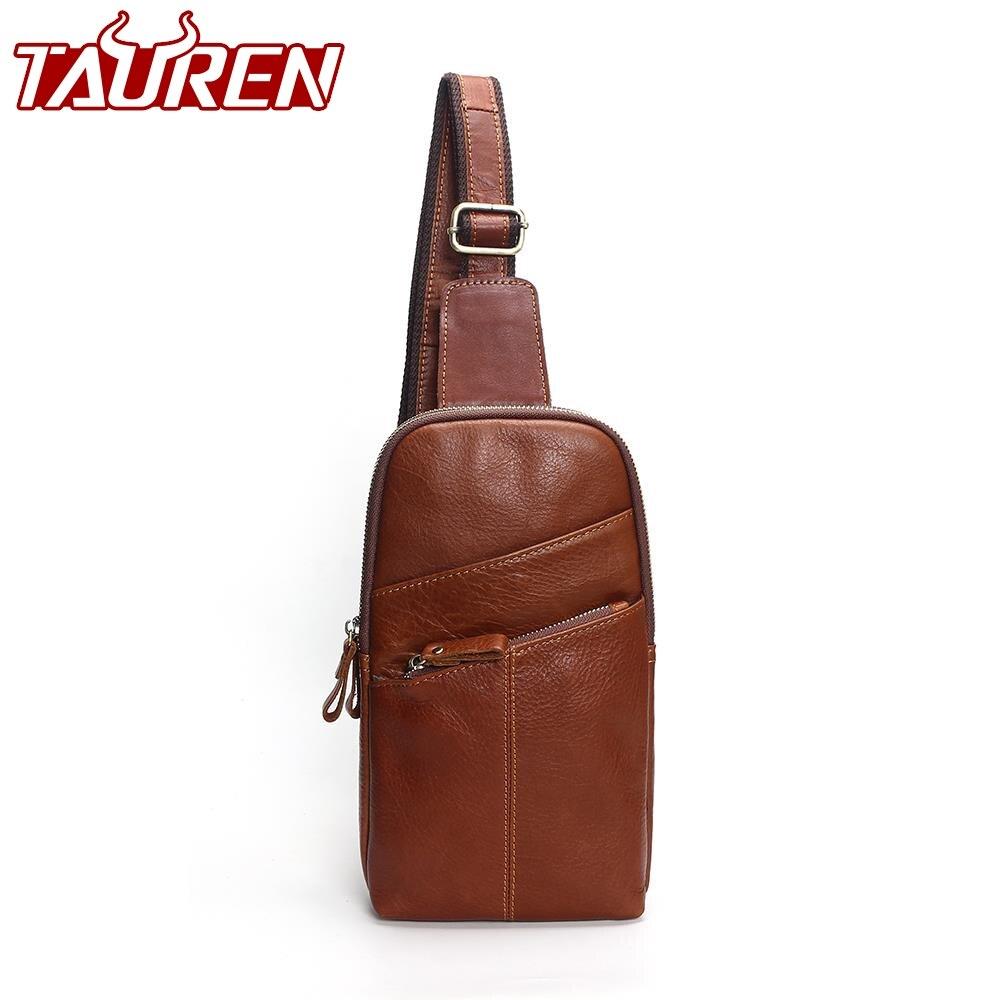 Для мужчин сумка-мессенджер кожа груди пакет Повседневное Для мужчин Дорожная сумка Грудь сумка для Для мужчин Для женщин кожа Сумка поясна...