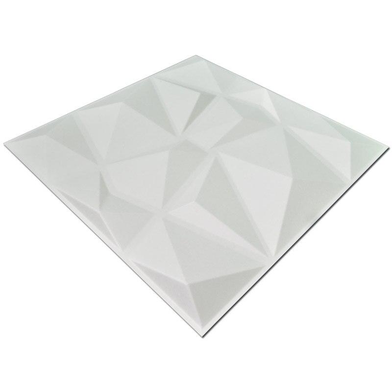 Los paneles de pared texturizados 3D del diamante 12 PC cubren 3m2 3D - Decoración del hogar - foto 4