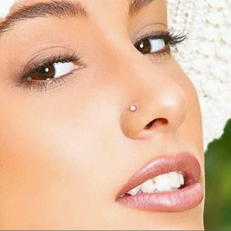 Nose Ring Fashion Body Jewelry Nose Stud Ring Stainless Surgical