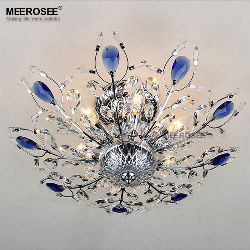 Beautiful Design Ceiling Light Fixture Crystal Lustres Lamp For Living Room Bedroom Home
