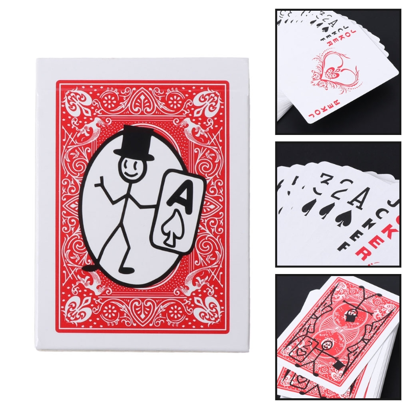 Top Quality Cartoon Deck Animation Prediction Pack Playing Card Magic Prop Tricks Gimmick ...