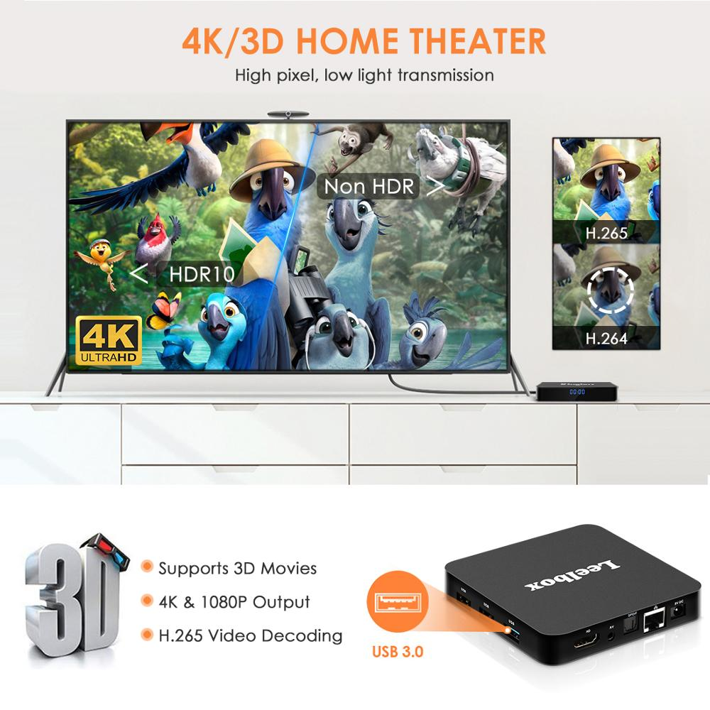 Image 3 - NEW,Q4 Plus Smart TV BOX Android 9.0 4GB+64GB RK3228 Quad Core WIFI 2.4G 4K 3D HK1mini Google Netflix Set Top Box-in Set-top Boxes from Consumer Electronics