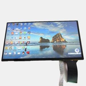 """Image 2 - 13.3 """"kapasitif dokunmatik ekran modülü 1920X1080 için Linux/android /win7 8 10 ahududu Pi3 tak ve çalıştır LCD ekran DIY kitleri"""