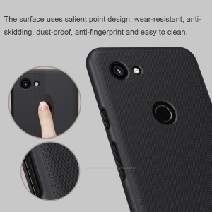 Image 2 - For Google Pixel 3a case cover NILLKIN Frosted PC Matte hard back cover with Gift Phone Holder For Google Pixel 3a XL case cover
