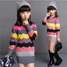 Winter new cardigan sweater girl Korea girl slim girl with long turtleneck sweater knitting coat