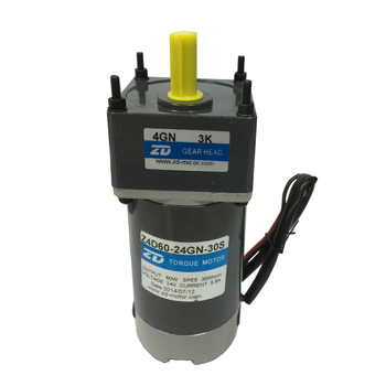 original new For DC motor Z4D60-24GN-30S 60W DC motor DC brush motor 24V