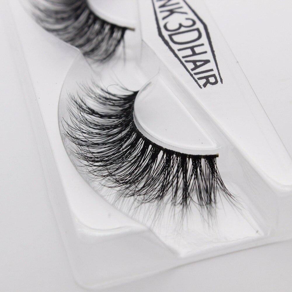 b9a421b5902 Ptcharming Handmade 100% 3D Real Siberian Mink False Eyelash Individual  Eyelashes Extension Faux Lashes PTAME A15-in False Eyelashes from Beauty &  Health on ...