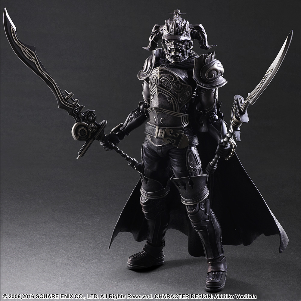 SQUARE ENIX Play Arts KAI Final Fantasy DISSIDIA Gabranth PVC Action Figure Collectible Model Toy 28cm KT2904 play arts kai street fighter iv 4 gouki akuma pvc action figure collectible model toy 24 cm kt3503