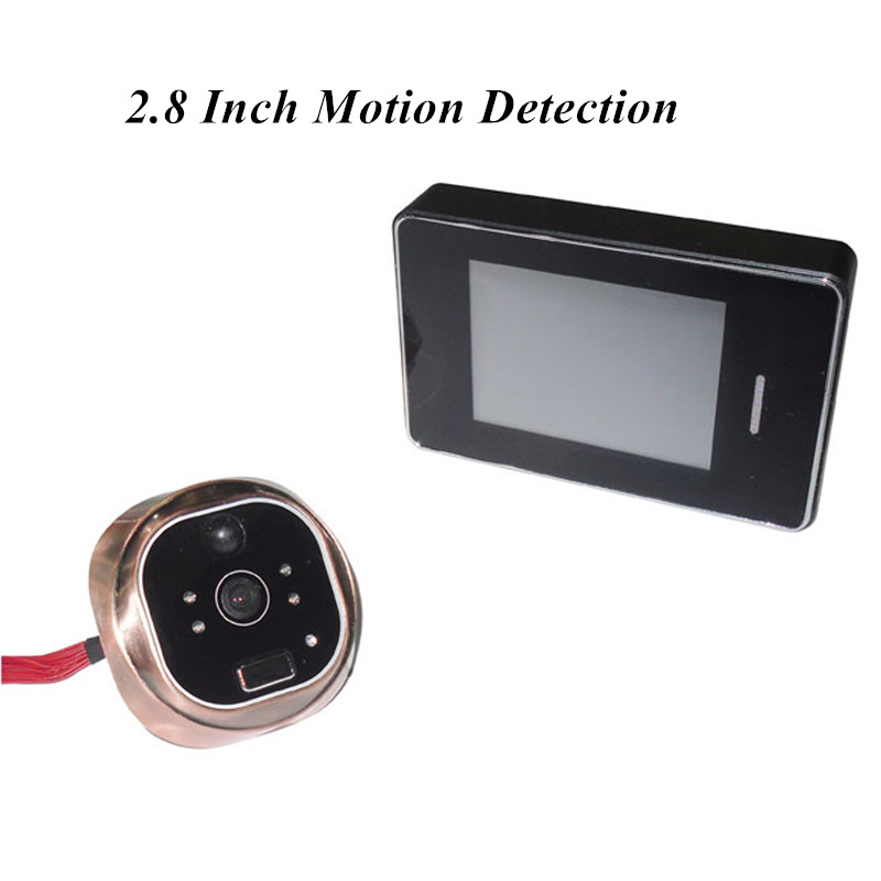ФОТО 2.8 Inch Touch Screen Motion Detection Video Door Phone
