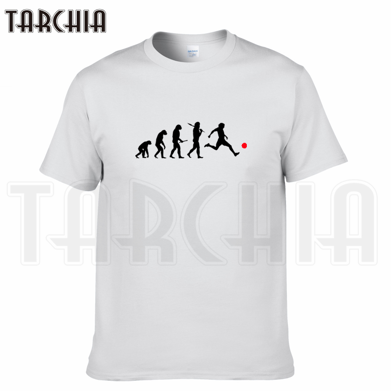 TARCHIA free shipping fashion t-shirt play ball cotton men short sleeve boy casual homme tshirt tops tees plus