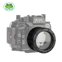 Seafrogs 18-55mm Lens Tube For Canon EOS M5 Waterproof Housing Case Replace Camera Accessory waterproof underwater housing camera housing case for canon 550d 18 55mm lens