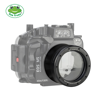 Seafrogs 18-55mm Lens Tube For Canon EOS M5 Waterproof Housing Case Replace Camera Accessory