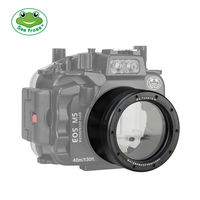 Seafrogs 18 55mm Lens Tube For Canon EOS M5 Waterproof Housing Case Replace Camera Accessory