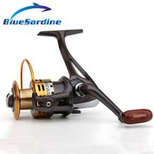 Nuevo Carrete de Pesca de Giro de Metal Carrete Carp Fishing Tackle Molinete Bobina Carretilha Pesca 5000 + 10 BB 5.1: 1 1000-6000