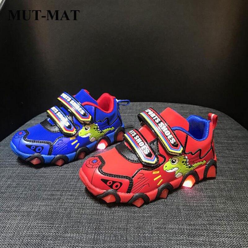 Children's Leathe Sports Shoes Boy's Breathable Anti-skid Shoe Girl's Multi-color Casual Shoes Wear-resistant Sport Shoes