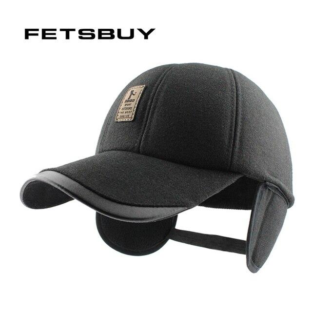 FETSBUY Новая мода высокого качества Хлопка Крышки осень зима шляпа повседневная snapback бейсболка для женщин людей hat Ушанке оптовая