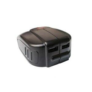 Image 4 - Replacement Dual USB Power Source for Bosch 14.4V BAT607 18 V LI BAT620  Slide Battery USB  Charger power  USB converter