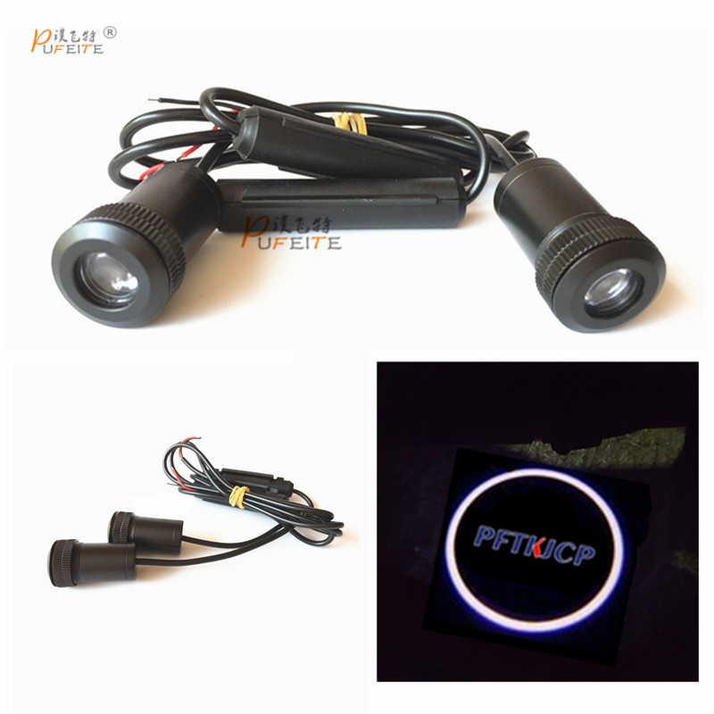 2/pcs car led welcome door projection lamp for Lifan door for 320 520 620 720 820 X50 X60 330 530 Car styling car light ...