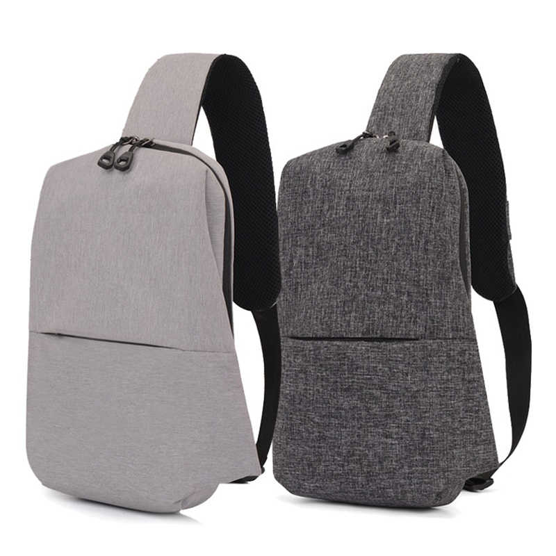 Urban Backpack Waterproof Leisure Chest Back Pack Bags Men Women Small Size One  Shoulder Strap Backpack 7b7cb098913fa
