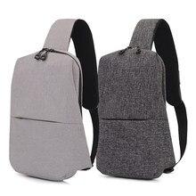a99cb077d9c09e Городской рюкзак непромокаемый Досуг грудь Back Pack сумки для мужчин  женщин Малый Размеры один рюкзак на