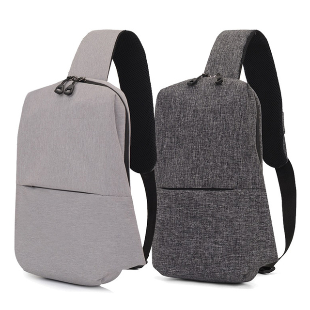 9ad9ef19b00e Urban Backpack Waterproof Leisure Chest Back Pack Bags Men Women Small Size  One Shoulder Strap Backpack
