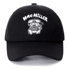 Dropshipping Mac Miller Snapback algodón gorra de béisbol para hombres  mujeres ajustable Hip Hop Dad sombrero Garros Casquette f5c0cbf30ce