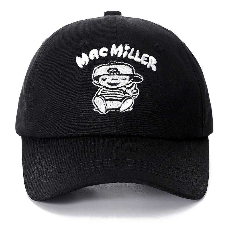 Dropshipping Mac Miller Snapback   Cap   Cotton   Baseball     Cap   For Men Women Adjustable Hip Hop Dad Hat Bone Garros Casquette