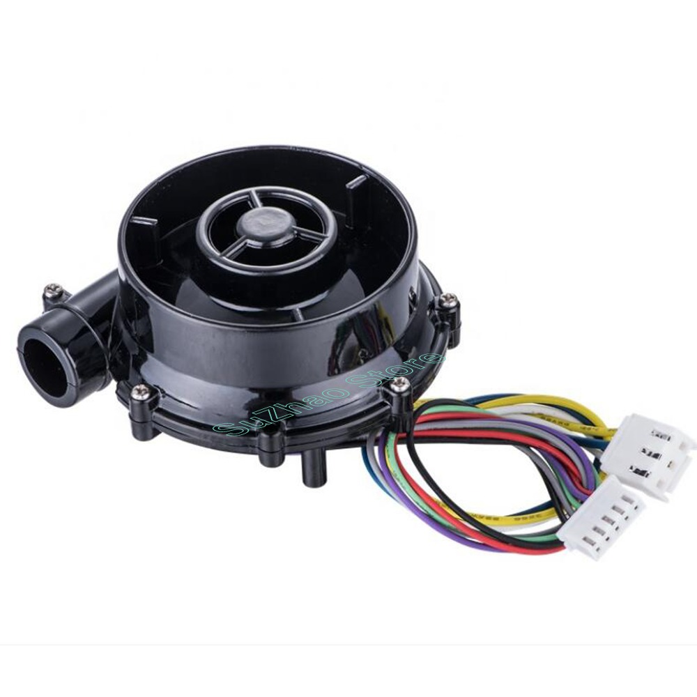 Souffleuse centrifuge à haute pression sans balais, 12V cd, 24V WS7040, ventilateur de purificateur d'air pour voiture, ventilateur d'aspiration à pression négative,