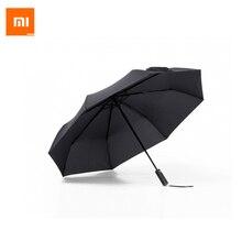 Xiaomi Mijia Automatique Ensoleillé Rainy Parapluie En Aluminium Coupe-Vent Imperméable UV Parapluie Homme femme D'été D'hiver