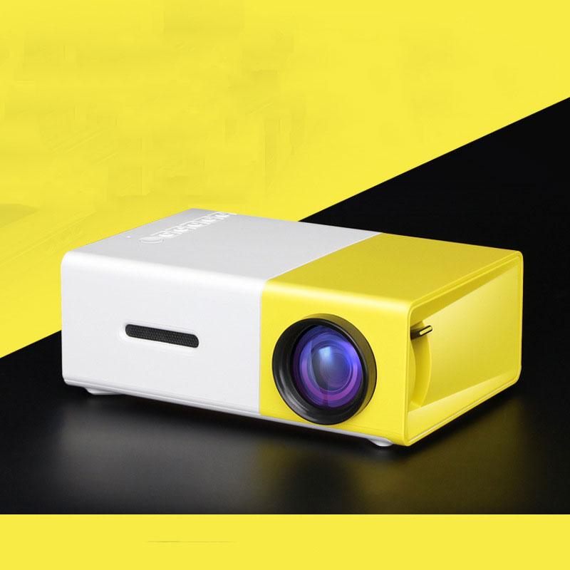 2016 Hot Sale Mini LED Projector HD Portable 400-600 LM 320*240 Pixels HDMI USB Mini Projector Home Theater Multi-media Player