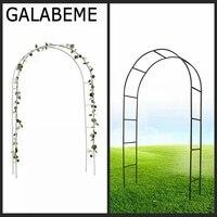 Galabeme 240CMx140CM Metal wedding Arch Pergola Garden Backdrop Stand arches rustic wedding decoration DIY wedding favors