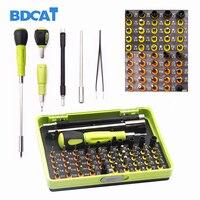 BDCAT 53 in 1 Precision Torx Screwdriver Set Tweezer Flexible Drill Shaft Disassembly Screwdriver Repair Open Tool Kit