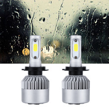 H7 LED H4 Car headlight bulb 9005 9006 36W 6000k led fog light 12V 24V 7000rpm fan H11 H3 H4 H27 880 881 9004 9007 H13 HB1\2\3\4(China)