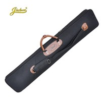 120cm Professional portable bamboo chinese dizi flute bag case design for concert cover backpack with adjustable shoulder strap