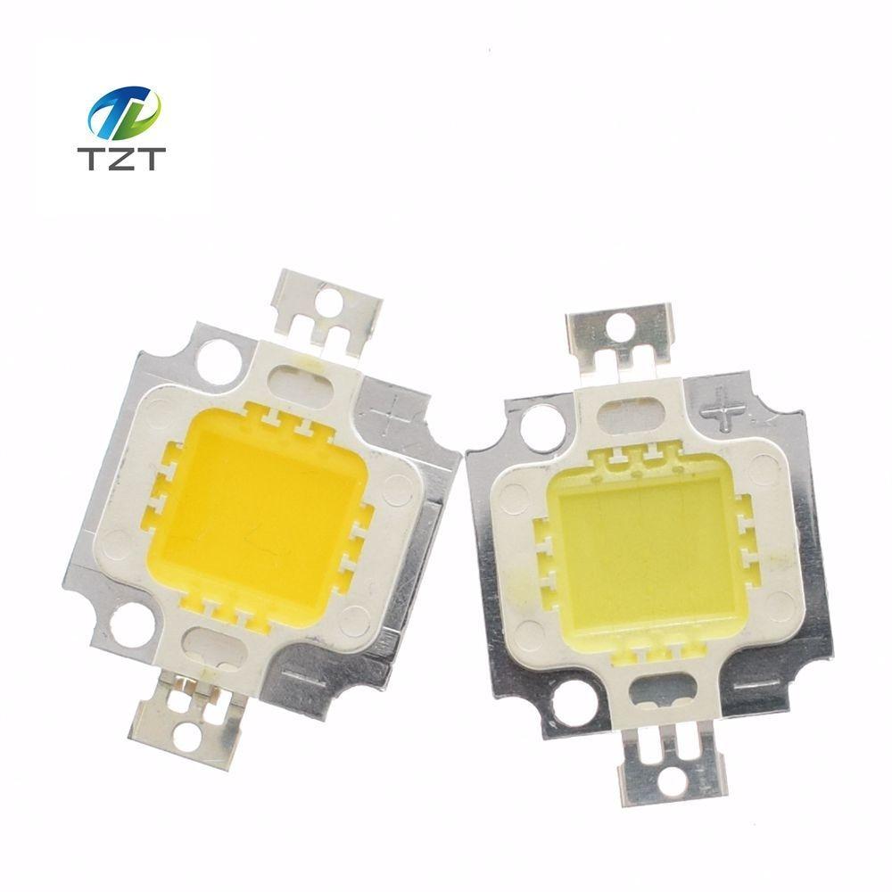 10pcs/lot 10W LED Chip Bulb 10w led 900lm Lamp Light warm white High Power 20*48mli Chip for flood lamp