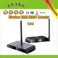 1080 P 50 М/Ft LKV388 Беспроводной HDbitT HDMI WI-FI Ретранслятор Range Extender Передатчик и Приемник С ИК-Пульта Дистанционного для HDTV Проектор